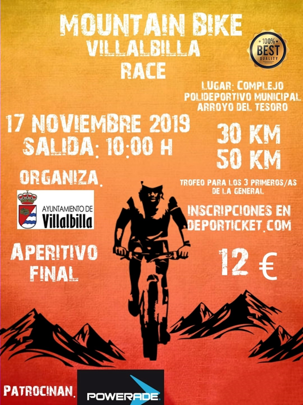 VILLALBILLA MTB RACE 2019 50K