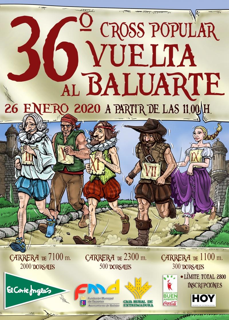 36º VUELTA AL BALUARTE 1100M