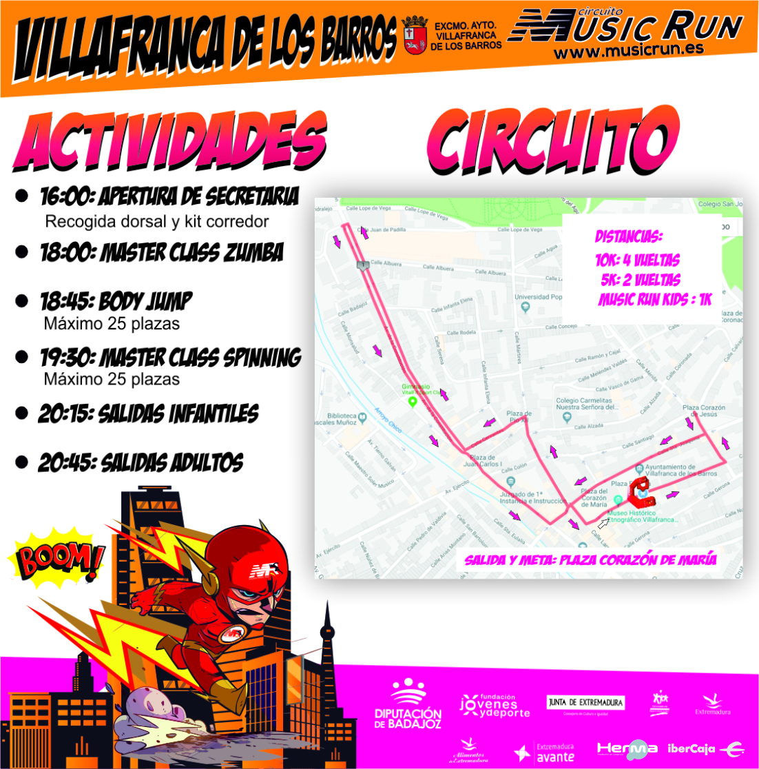 Music Run Villafranca de los Barros 5K