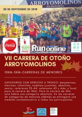 VII CARRERA OTOÑO ARROYOMOLINOS 5K