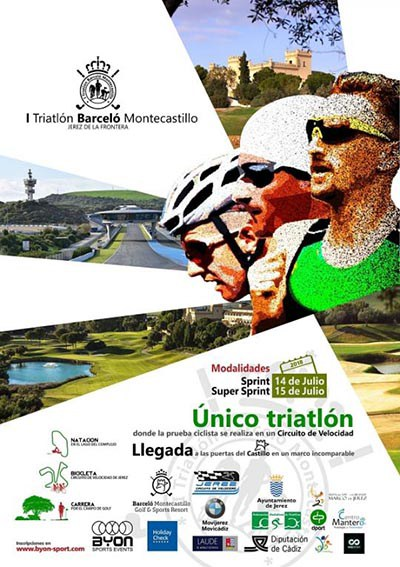 I Triatlon Barcelo Montecastillo SuperSprint Igualdad
