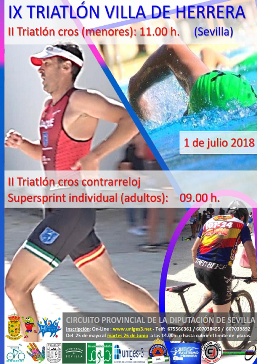 II Triatlon Cross Contrareloj Herrera Femenina