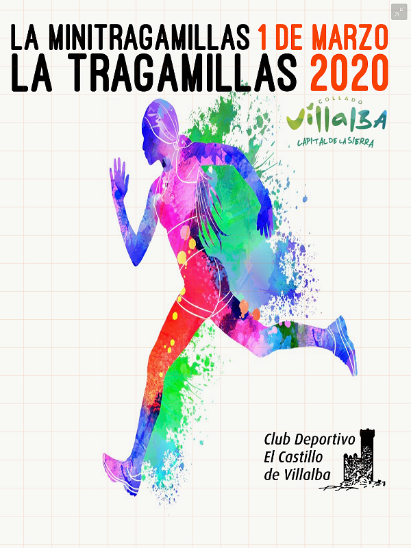 TRAGAMILLAS MEDIA MARATON COLLADO VILLALBA 2020