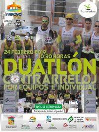DUATLON INDIVIDUAL ARROYO DE LA LUZ MAS