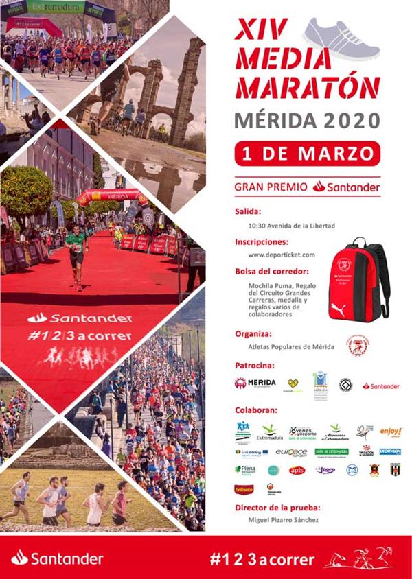 XIV MEDIA MARATON MERIDA 2020