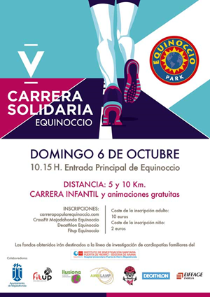 V CARRERA POPULAR EQUINOCCIO 5K