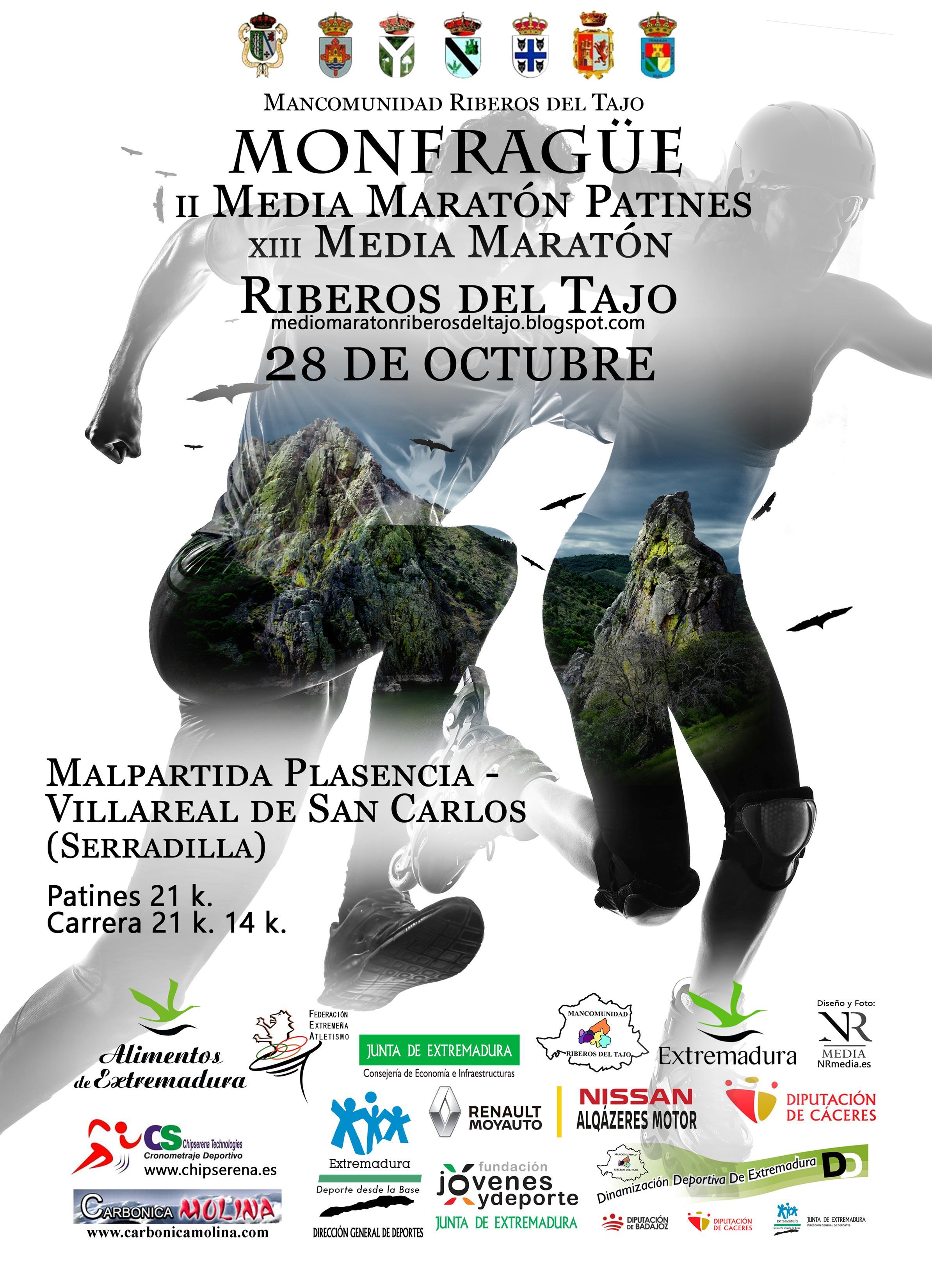 Media Maraton de Patines Riberos del Tajo