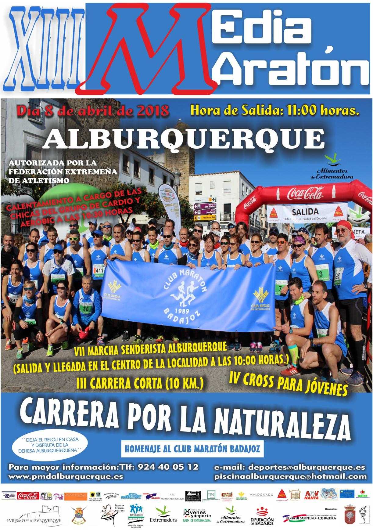 XIII Media Maraton Alburquerque