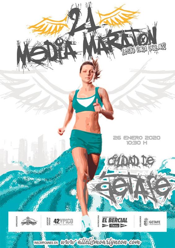 21 Media Maraton de GETAFE 2020