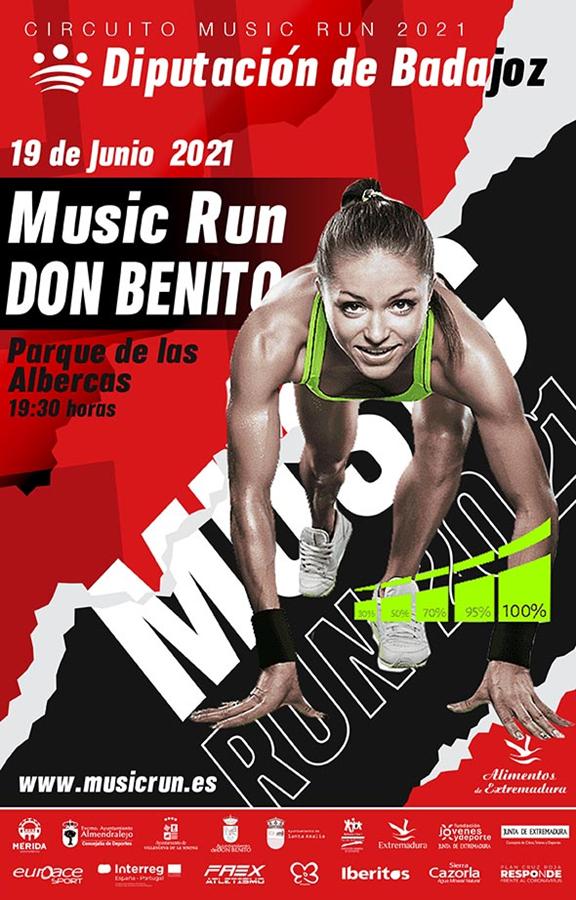 MUSIC RUN DON BENITO 2021