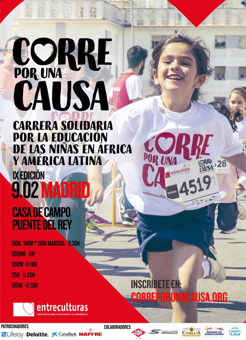 CARRERA ENTRECULTURAS MADRID 5K 2020