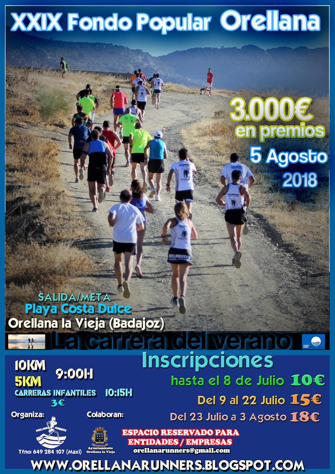 XXIX Fondo Popular Orellana 800M