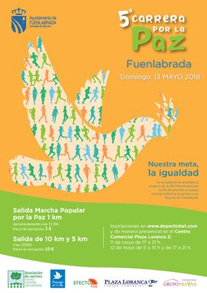 CARRERA DE LA PAZ FUENLABRADA 5Km