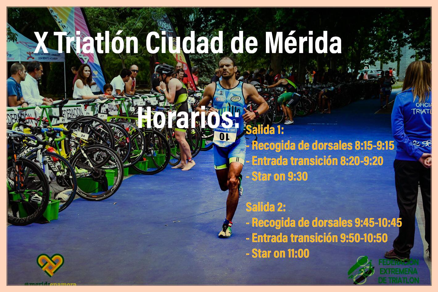 X TRIATLON CIUDAD DE MERIDA FEMENINO