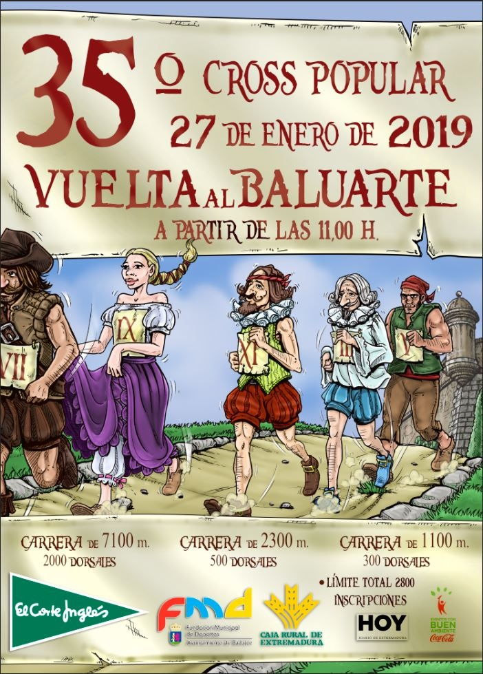 35º CROSS POPULAR VUELTA AL BALUARTE ABSOLUTA