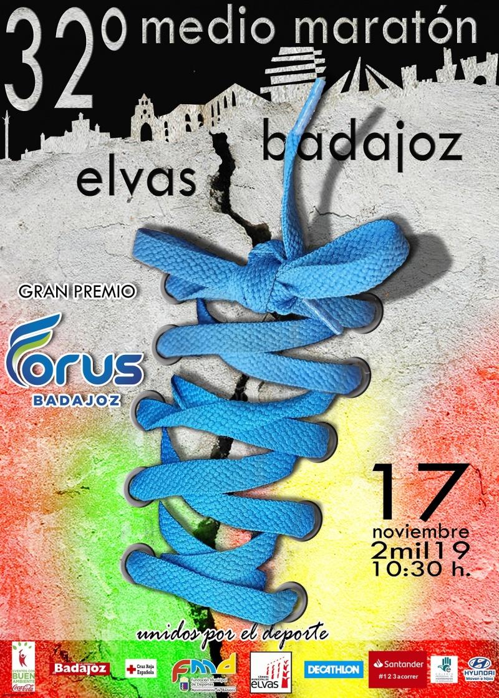 32º MEDIA MARATON ELVAS-BADAJOZ
