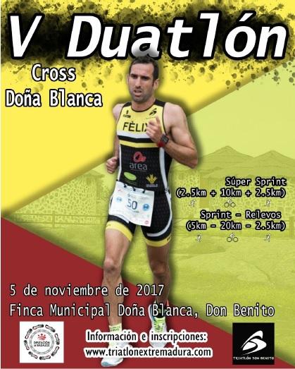 V Duatlon Cross Doña Blanca Sprint Masculino