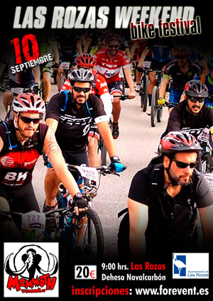 LAS ROZAS BIKE WEEKEND FESTIVAL RUTA CORTA