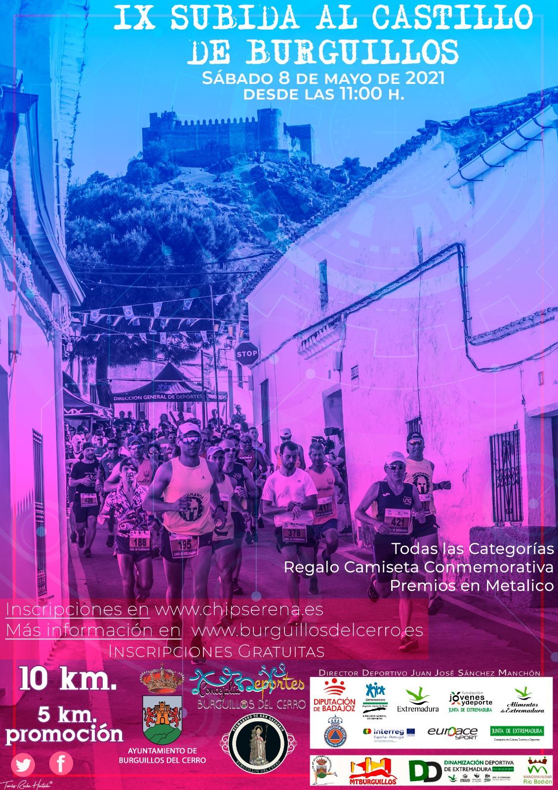 IX Subida al Castillo de Burguillos PROMOCION