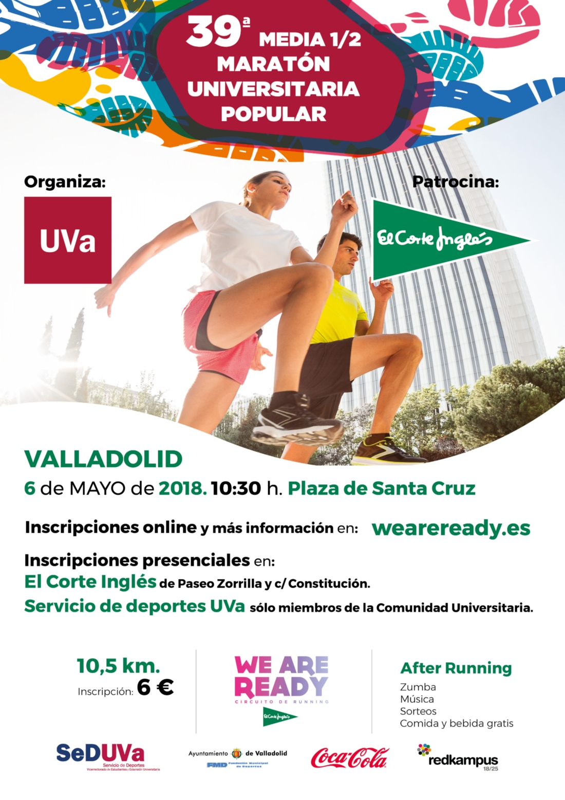 MEDIA MEDIA MARATON UNIVERSITARIA VALLADOLID