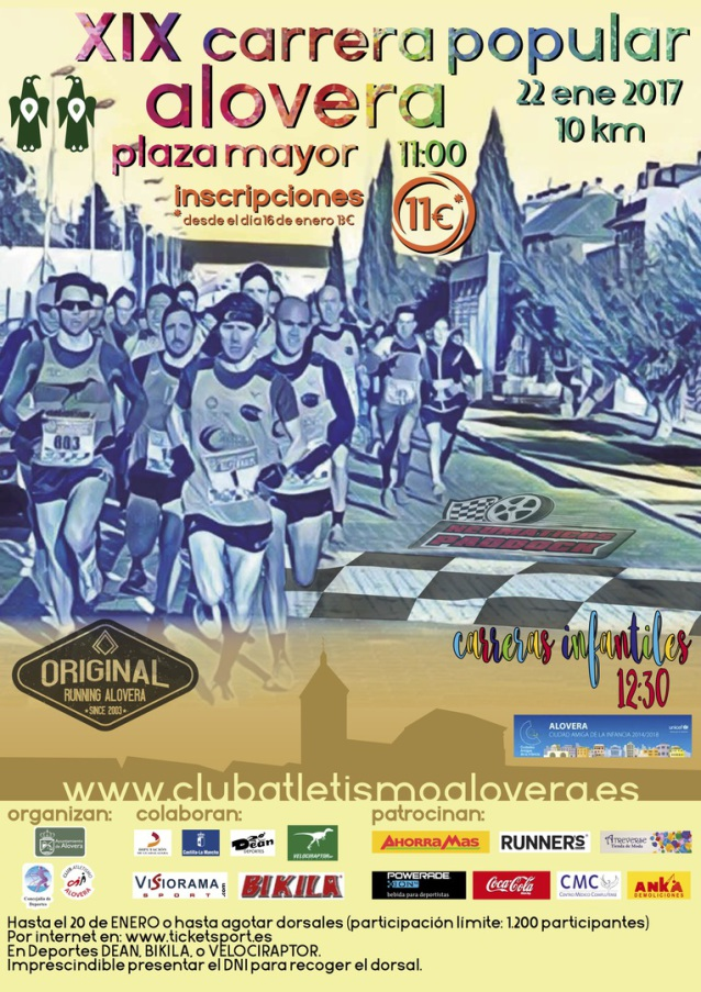 XIX CARRERA POPULAR ALOVERA
