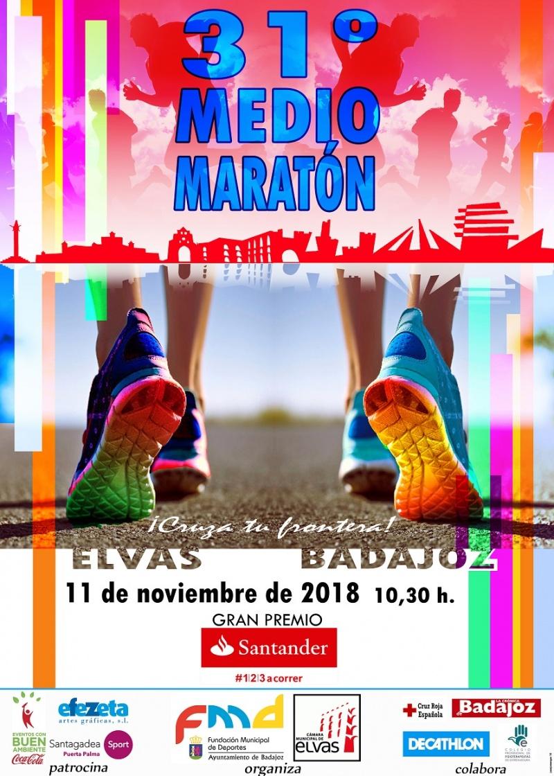 31º Media Maraton Elvas-Badajoz