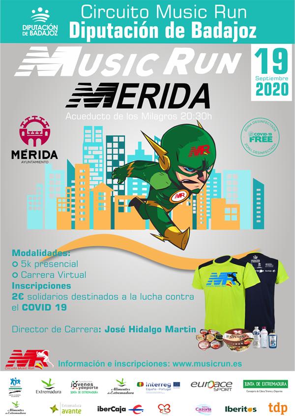 MUSIC RUN MERIDA 2020