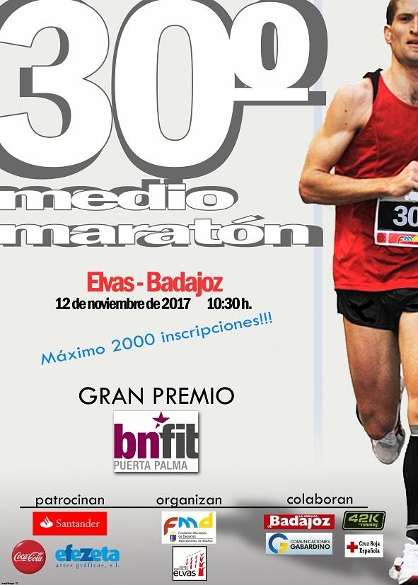 30ª Media Maraton Elvas-Badajoz