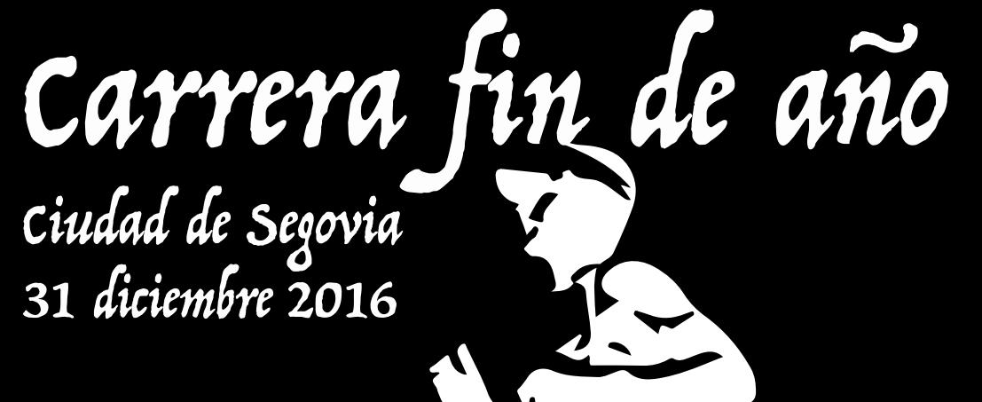 CARRERA FIN DE AÑO SEGOVIA 2016